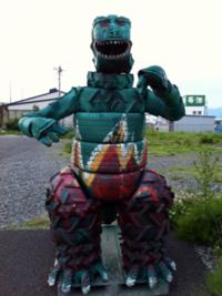 タイヤな怪獣