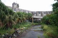 八丈島の南国廃ホテル
